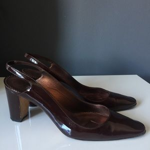 Manolo Blahnik sling back shoes 41.5
